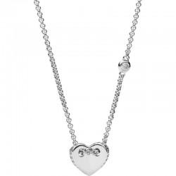 Kaufen Sie Fossil Damenhalskette Sterling Silver JFS00425040 Herz