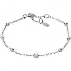 Fossil Damenarmband Sterling Silver JFS00452040