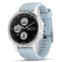 Kaufen Sie Garmin Herrenuhr Fēnix 5S Plus Glass 010-01987-23 GPS Multisport Smartwatch