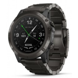 Kaufen Sie Garmin Herrenuhr D2 Delta PX Sapphire Aviator 010-01989-31 Aviation GPS Smartwatch