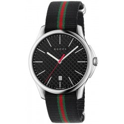 Gucci Herrenuhr G-Timeless Large Slim YA126321 Quartz
