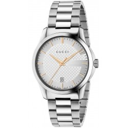 Kaufen Sie Gucci Unisexuhr G-Timeless Medium YA126442 Quartz