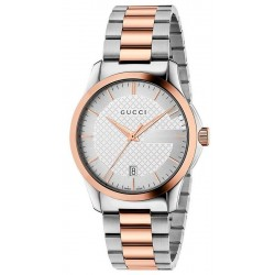 Kaufen Sie Gucci Unisexuhr G-Timeless Medium YA126473 Quartz