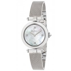 Kaufen Sie Gucci Damenuhr Diamantissima Small YA141504 Perlmutt Quartz