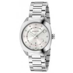 Gucci Damenuhr GG2570 Medium YA142403 Diamanten Quartz