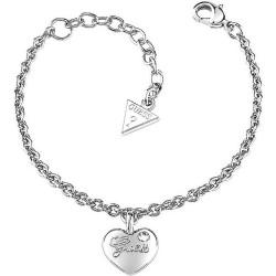 Kaufen Sie Guess Damenarmband Iconic UBB21527-S Herz