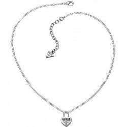 Kaufen Sie Guess Damenhalskette Love Lock UBN51449 Herz