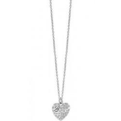 Kaufen Sie Guess Damenhalskette Glossy Hearts UBN51471 Herz