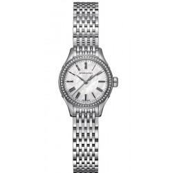 Kaufen Sie Hamilton Damenuhr Valiant Quartz H39211194 Diamanten Perlmutt