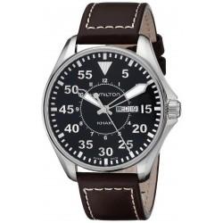 Hamilton Herrenuhr Khaki Aviation Pilot Day Date Quartz H64611535