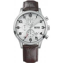 Kaufen Sie Hugo Boss Herrenuhr Aeroliner 1512447 Quarz Chronograph