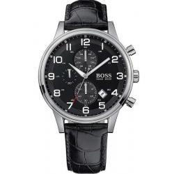 Kaufen Sie Hugo Boss Herrenuhr Aeroliner 1512448 Quarz Chronograph