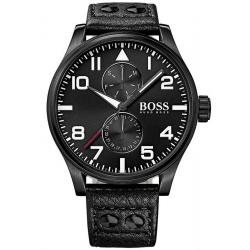 Kaufen Sie Hugo Boss Herrenuhr Aeroliner 1513083 Quarz Multifunktions