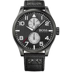 Kaufen Sie Hugo Boss Herrenuhr Aeroliner 1513086 Quarz Multifunktions