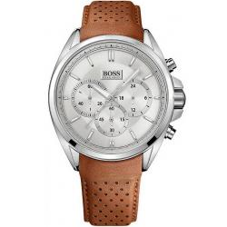 Hugo Boss Herrenuhr 1513118 Quarz Chronograph