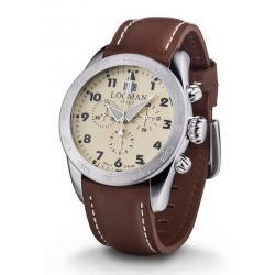 Kaufen Sie Locman Herrenuhr Isola d'Elba Quarz Chronograph 0460A04-00AVBKPN