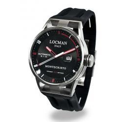 Kaufen Sie Locman Herrenuhr Montecristo Automatik 051100BKFRD0GOK