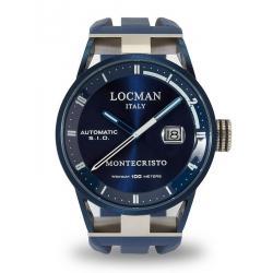 Kaufen Sie Locman Herrenuhr Montecristo Automatik 0511BLBLFWH0SIB