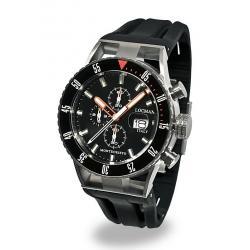 Kaufen Sie Locman Herrenuhr Montecristo Professional Diver Chronograph 051200KOBKNKSIK