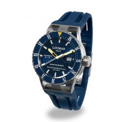 Kaufen Sie Locman Herrenuhr Montecristo Professional Diver Automatik 051300BYBLNKSIB