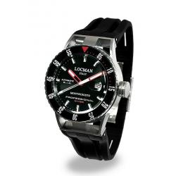 Kaufen Sie Locman Herrenuhr Montecristo Professional Diver Automatik 051300KRBKNKSIK