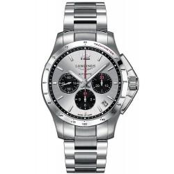Kaufen Sie Longines Herrenuhr Conquest L36974066 Automatik Chronograph