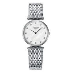 Kaufen Sie Longines Damenuhr La Grande Classique L45124876 Diamanten Perlmutt