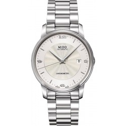 Kaufen Sie Mido Herrenuhr Baroncelli III COSC Chronometer Automatic M0104081103700