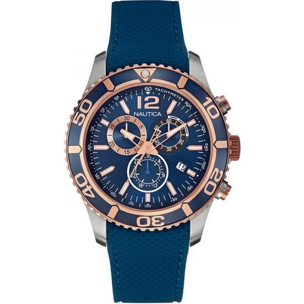 Kaufen Sie Nautica Herrenuhr NST 09 NAI16502G Chronograph