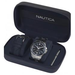 Kaufen Sie Nautica Herrenuhr Freeboard Box Set NAPFRB013