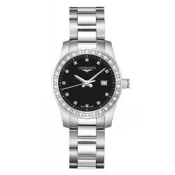 Kaufen Sie Longines Damenuhr Conquest L33000576 Diamanten Quartz
