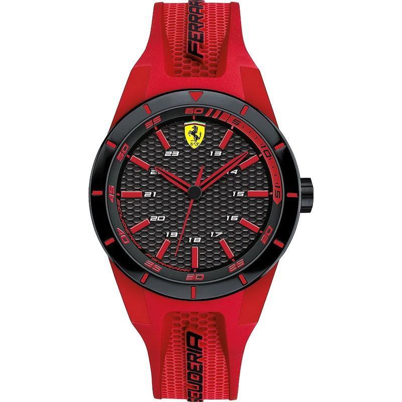 Men S Scuderia Ferrari Watch Red Rev 0840005 Crivelli Shopping