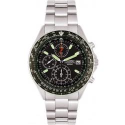 Kaufen Sie Seiko Herrenuhr Flightmaster Pilot Chronograph Quartz SND253P1