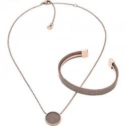 Skagen Damenarmband + Halskette Merete SKJB1000791