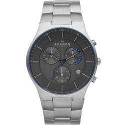 Kaufen Sie Skagen Herrenuhr Balder Titanium SKW6077 Chronograph