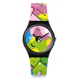 Swatch Damenuhr Gent Image Of Graffiti GB317