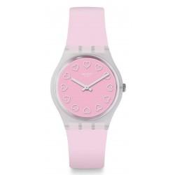 Kaufen Sie Swatch Damenuhr Gent All Pink GE273