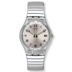 Swatch Unisexuhr Gent Silverall L GM416A