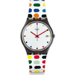 Swatch Damenuhr Gent Milkolor GM417