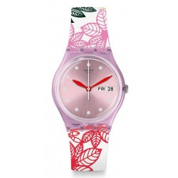 Swatch Damenuhr Gent Summer Leaves GP702