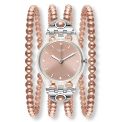 Swatch Damenuhr Lady Pink Prohibition LK354