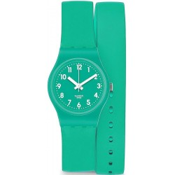 Swatch Damenuhr Lady Mint Leave LL115