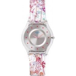 Kaufen Sie Swatch Damenuhr Skin Classic Jardin Fleuri SFE102