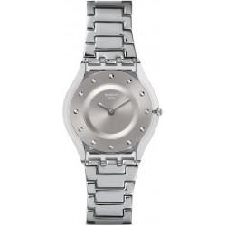 Kaufen Sie Swatch Damenuhr Skin Classic Silver Drawer SFK393G