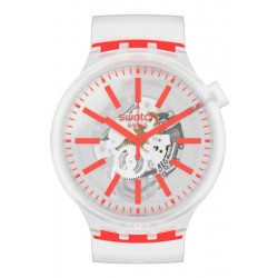 Swatch Uhr Big Bold Orangeinjelly SO27E102