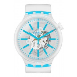 Swatch Uhr Big Bold Blueinjelly SO27E105
