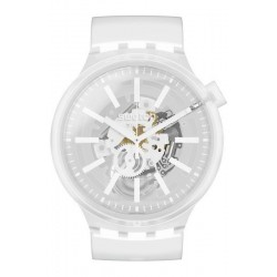 Swatch Uhr Big Bold Whiteinjelly SO27E106