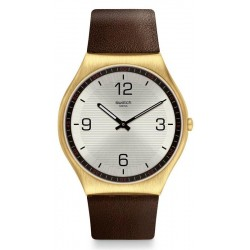 Swatch Herrenuhr Skin Irony Skin Suit Coffee SS07G100