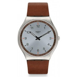 Swatch Herrenuhr Skin Irony Skin Suit Brown SS07S108