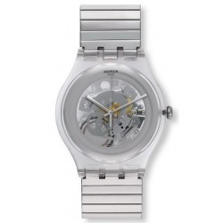 Swatch Unisexuhr New Gent Cleared Up L SUOK105FA